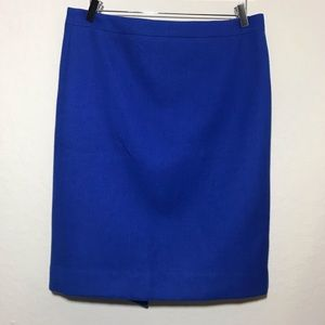 j. Crew No. 2 Pencil skirt in double -serge wool